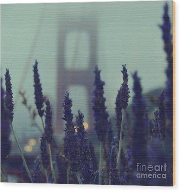 Purple Haze Daze Wood Print by Jennifer Ramirez