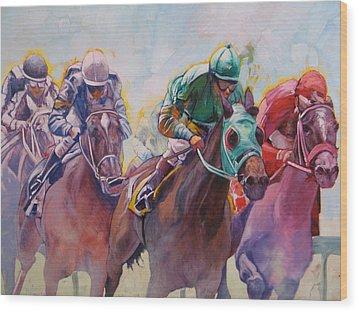 Race 2 Wood Print by Janina  Suuronen