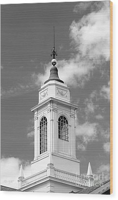 Radcliffe College Cupola Wood Print by University Icons