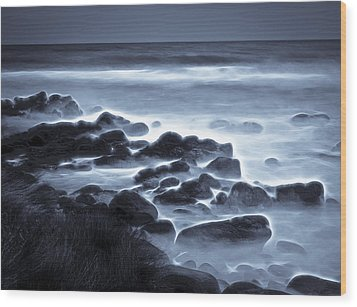 Raglan Beach Wood Print by motography aka Phil Clark