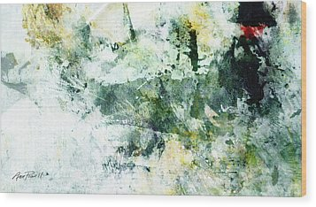 Ragtime Abstract  Art  Wood Print by Ann Powell