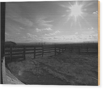 Rancho Colorado Wood Print by Anna Villarreal Garbis