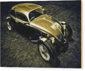 Rat Beetle Wood Print by motography aka Phil Clark