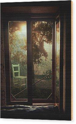 Rear Window Wood Print by Taylan Soyturk