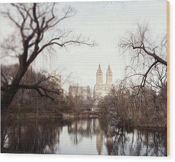 Reflected Wood Print by Lisa Russo