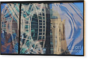 Reflection 23 Wood Print by Jim Wright