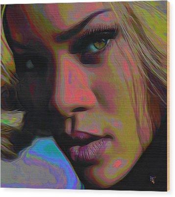 Ri Ri Wood Print by  Fli Art