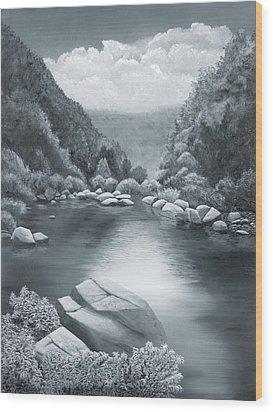 Richland Creek Wood Print by Garry McMichael