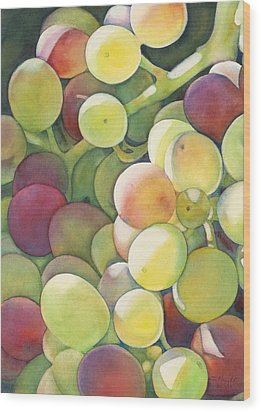 Ripening Wood Print by Sandy Haight