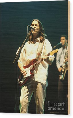 Musician Roger Hodgson Wood Print by Concert Photos