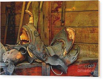Rough Ride Wood Print by Lauren Leigh Hunter Fine Art Photography
