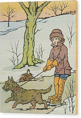 Run Dandy Run Wood Print by Anonymous
