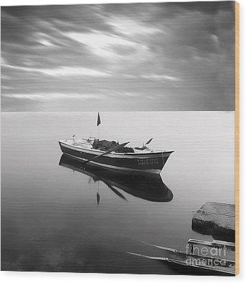 Sail To Eternity Wood Print by Talip Kaya