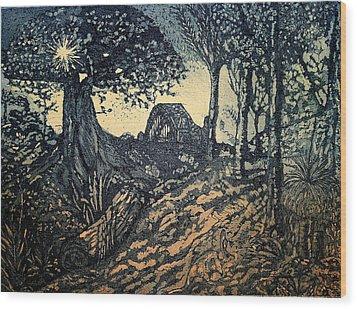 Sam's Early Morn Wood Print by Lyndsey Hatchwell