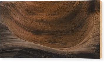 Sandstone Flow Wood Print by Chad Dutson