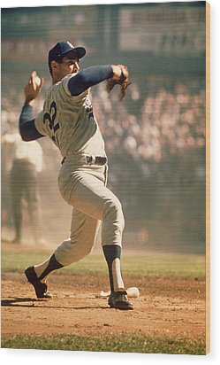 Sandy Koufax  Wood Print by Retro Images Archive