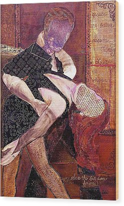 Save The Last Dance For Me Wood Print by Debi Starr