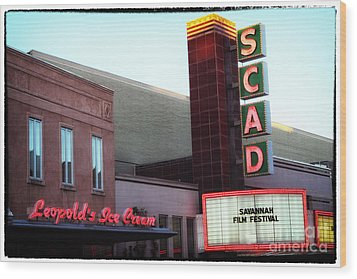 Scad Wood Print by John Rizzuto