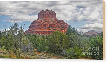 Sedona Arizona Bell Rock Wood Print by Gregory Dyer