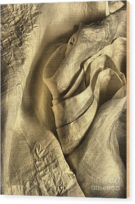 Seductive Wood Print by Lauren Leigh Hunter Fine Art Photography