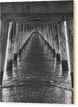 See Forever From Here Wood Print by Heather Applegate