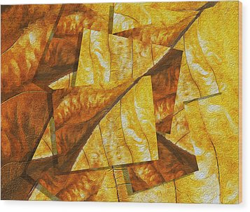 Shades Of Autumn Wood Print by Jack Zulli