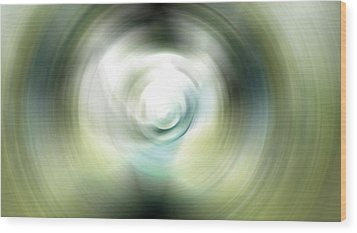 Shimmer - Energy Art By Sharon Cummings Wood Print by Sharon Cummings