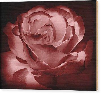 Silk  Wood Print by Athala Carole Bruckner