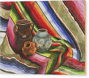 Southwest Still Life Wood Print by Marilyn Smith