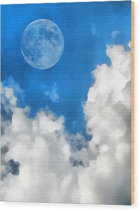 Speak To The Sky Wood Print by Wendy J St Christopher