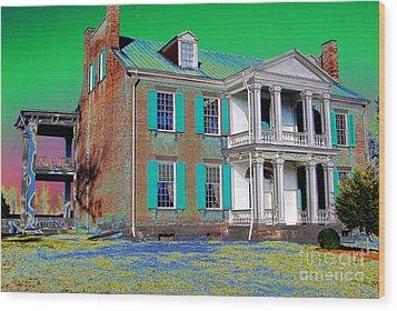 Spirits Of The Civil War Wood Print by Francine Hall