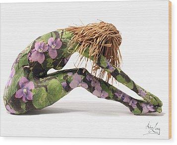 Spring Awakens Sculpture Wood Print by Adam Long