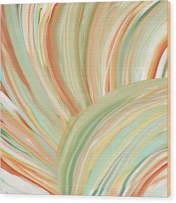 Spring Colors Wood Print by Lourry Legarde