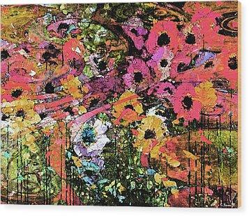 Spring Eternal Wood Print by Catherine Harms