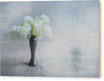 Spring Flowers Wood Print by Veikko Suikkanen