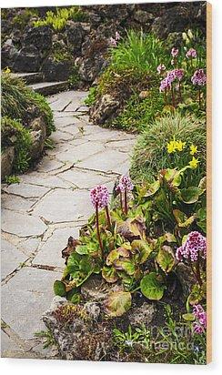 Spring Garden Wood Print by Elena Elisseeva
