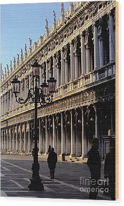 St. Mark's Square Venice Italy Wood Print by Ryan Fox
