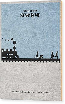 Stand By Me Wood Print by Ayse Deniz