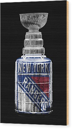 Stanley Cup 4 Wood Print by Andrew Fare