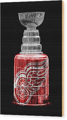 Stanley Cup 5 Wood Print by Andrew Fare