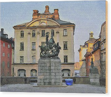 Stockholm 6 Wood Print by Yury Malkov