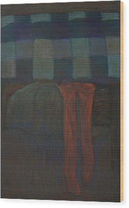 Stockings Wood Print by Oni Kerrtu