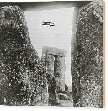 Stonehenge 1914 Wood Print by Science Source