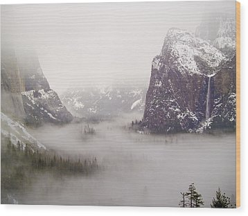Storm Brewing Wood Print by Bill Gallagher