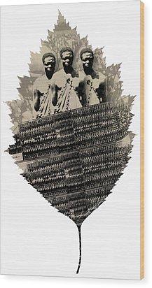 Strange Cargo Wood Print by George Frederick Nash