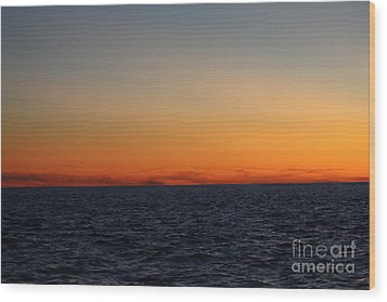 Sunset Over Point Lookout Wood Print by John Telfer