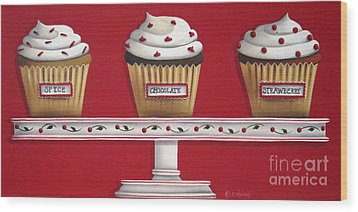Sweet Delights Wood Print by Catherine Holman