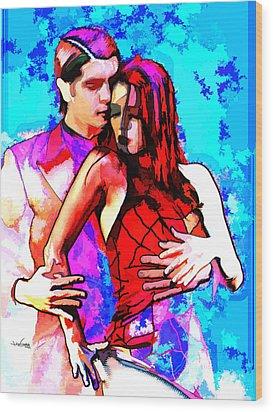 Tango Argentino - Love And Passion Wood Print by Reno Graf von Buckenberg
