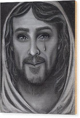 Tears Of Joy Wood Print by Just Joszie