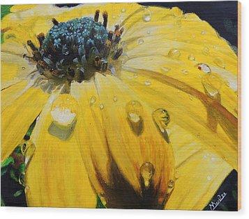 Tears Of The Sun Wood Print by Maritza Tynes